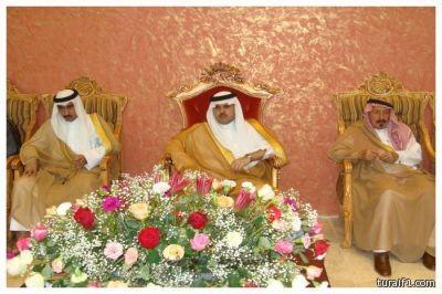 تقرير مصور لزيارة الأمير فهد بن نواف الشعلان لحفل قبيلة الروله بطريف