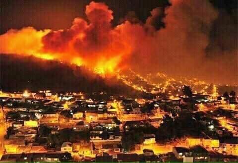 الحرائق تتواصل في إسرائيل لليوم الثالث على التوالي