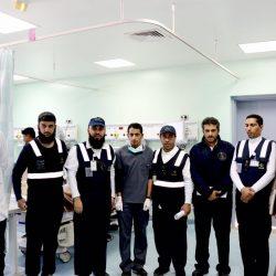 بالفيديو والصور..القطاع الصحي بطريف ينفذ خطة إخلاء فرضية بمستشفى طريف العام