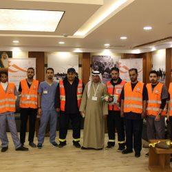 فريق تطوع الهلال الأحمر يزور نزلاء مستشفى الأمير عبدالله بن مساعد بعرعر