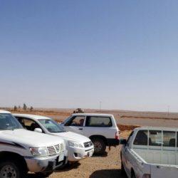 بالصور..لجنة التعديات بطريف تواصل إزالة السواتر الترابية والتعديات حول المحافظة