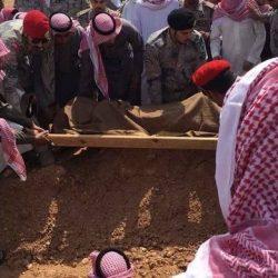 جموع غفيرة من أهالي عرعر تشيع جثمان الشهيد العنزي