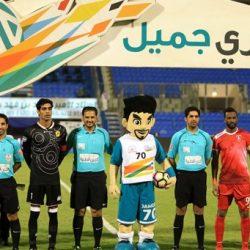 دوري جميل : الخليج يفوز على الوحدة برباعية