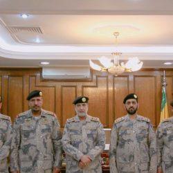 سلطان راجي الدغماني إلى رتبة عميد بحرس الحدود بالجوف