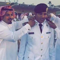 عبدالعزيز شبيب البلوي يتخرج من الكلية البحرية