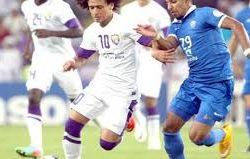 الهلال يواجه العين الإماراتي غداً في ذهاب دور الثمانية بدوري أبطال آسيا