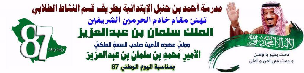 مدرسة احمد ابن حنبل وطني