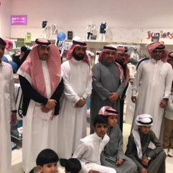 متوسطة عبدالله بن الزبير بطريف تقوم بزيارة لمعرض التوعية بالسكري بسنتر بوينت