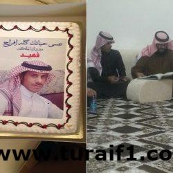 فهيد الشمري يحتفل بعقد قرانه