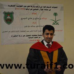 """الطالب """"الدوسري"""" يحصل على أول أطروحة دكتوراه في الجامعة الأردنية في برنامج العلوم السياسية"""