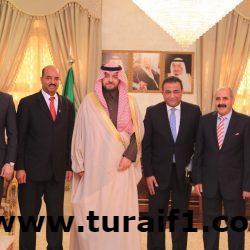 أمير منطقة الحدود الشمالية يستقبل القنصل المصري لدى المملكة