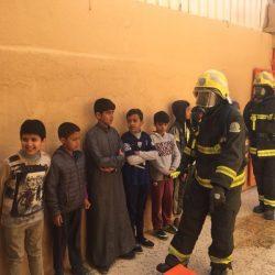 حريق يخلي ١٦٦ طالبا بمدرسة ابتدائية بعرعر افتراضيا