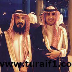 الاستاذ/ محمد مصبح الرويلي يحتفل بتخرج ابنه المهندس عبدالرحمن