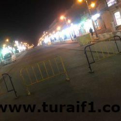 تأهيل شارع سوق النساء غرب طريف وتحويله إلى جادة مشاة