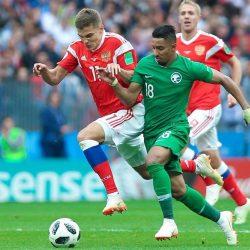 بالفيديو.. الأخضر يخسر أولى مبارياته في كأس العالم بخماسية نظيفة أمام روسيا