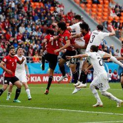 أوروجواي تخطف فوزاً صعباً من مصر بهدف في الدقائق الأخيرة