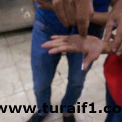 بلدية طريف : إتلاف كمية من المواد الغذائية واستبعاد عاملين لتدني النظافة الشخصية
