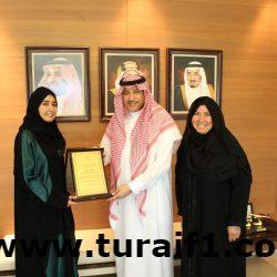 السفير السعودي لدى الأردن يكرم طالبة سعودية حاصلة على درجة الامتياز في جامعة العلوم والتكنولوجيا الاردنية