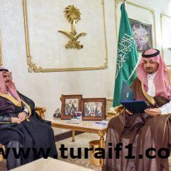 أمير الحدود الشمالية يستقبل مدير فرع البريد السعودي بالمنطقة