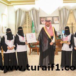 أمير الحدود الشمالية يؤكد أهمية تشجيع المرأة السعودية على الإبداع والتميز في المجالات التي تناسبها