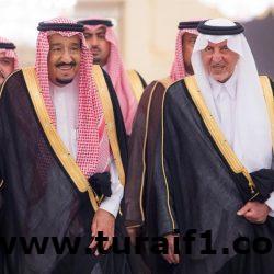 بالصور.. خادم الحرمين يستقبل الأمراء والعلماء والمسؤولين والمواطنين بقصر السلام بجدة