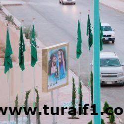 بالصور رجل الأعمال ساير الرويلي يؤهل شارع الملك خالد في طريف