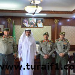 مدير جوازات الشمالية يقوم بجولة تفقدية لادارة جوازات محافظة طريف