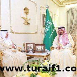 الأمير فيصل بن خالد بن سلطان يستقبل مدير فرع وزارة العمل بالحدود الشمالية