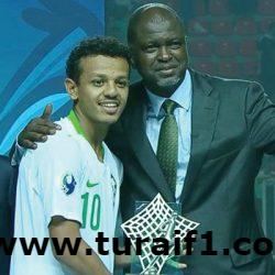تركي العمار يُتوج بجائزة أفضل لاعب في بطولة كأس آسيا للشباب