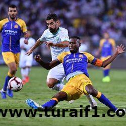 دوري كأس الأمير محمد بن سلمان للمحترفين : الأهلي يلحق الخسارة الأولى بالنصر