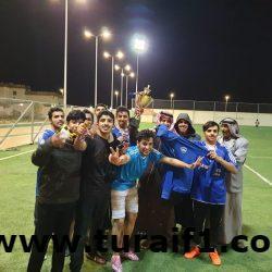 فريق الهامور يفوز بنهائي دوري كرة القدم بالمعهد الصناعي بطريف