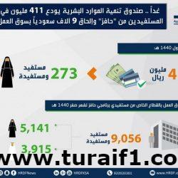 """غداً .. """"هدف"""" يودع 411 مليون في حسابات المستفيدين من """"حافز"""" وإلحاق 9 آلاف سعودياً بسوق العمل"""