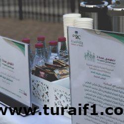 بمناسبة اليوم العالمي للطفل اللجنة الثقافية في طريف تشارك بمكتبة هناء المغربي للطفل بنادي الحي