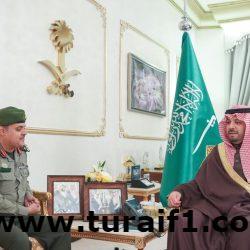 الأمير فيصل بن خالد بن سلطان يستقبل مدير جوازات المنطقة المعين حديثاً