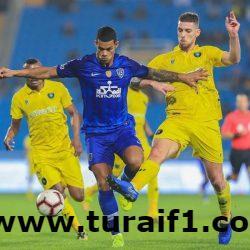 الهلال ينهي الجولة الـ 15 من الدوري بالتعادل مع التعاون بهدفين لكل منهما