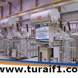 شركة الكهرباء تعلن تصنيع أول دفعة من محولات القدرة الكهربائية داخل المملكة