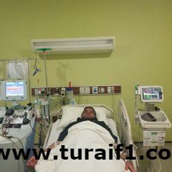 """""""الرويلي"""" يتبرع لأخيه المريض بسرطان الدم ببعض الخلايا الجذعية"""