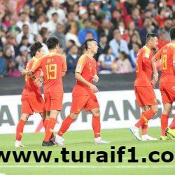 الصين يحقق فوزه الثاني في كأس آسيا 2019