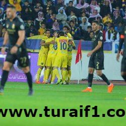 التعاون يفوز على النصر بثلاثة أهداف مقابل هدف وحيد