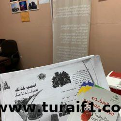 مساعد قائد قطاع حرس الحدود بطريف يقلد المقدم /دحام بن فهد الشعلان رتبته الجديدة