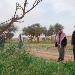 أمير الحدود الشمالية يتفقد محمية الإمام تركي بن عبدالله