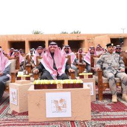 """أمير الحدود الشمالية يتفقد قصر الملك عبدالعزيز في """"لينة"""" ويضع حجر الأساس لمشروع إعادة ترميمه"""