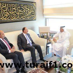 سفير المملكة لدى الأردن يلتقي رئيس الجامعة الأردنية