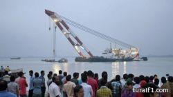 ارتفاع قتلى ضحايا العبارة البنغلاديشية إلى 41 قتيلا