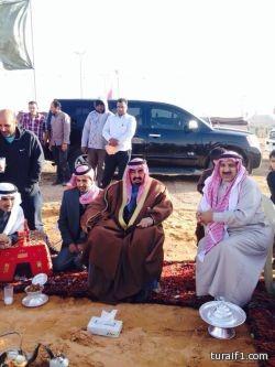 بالصور..محافظ طريف و رئيس البلدية و ممثل هيئة السياحة يقفون على استعدادات مهرجان طريف الشعبي