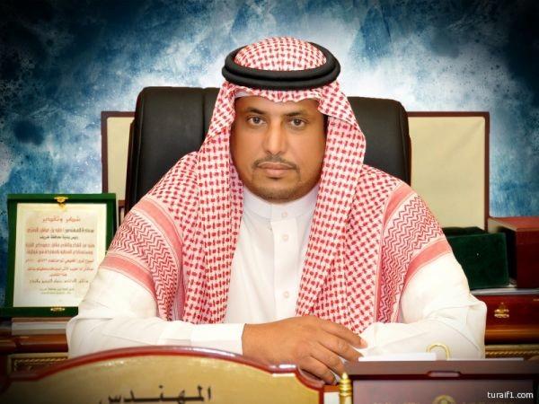 رئيس بلدية محافظة طريف يهني ولي العهد