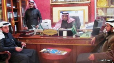 لقاء إخبارية طريف الحصري مع رئيس بلدية طريف والمشرف العام على مهرجان طريف للصقور