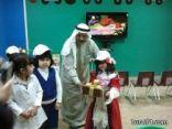 زيارة فراشات الروضة الثانية لمكتبة الطفل في أدبي الشمالية