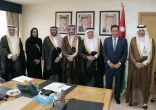 الطراونة يستقبل السفير السعودي ورئيس لجنة الأخوة البرلمانية السعودية -الأردنية