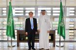 سفير المملكة لدى الأردن يستقبل السفير الكوري في عمان